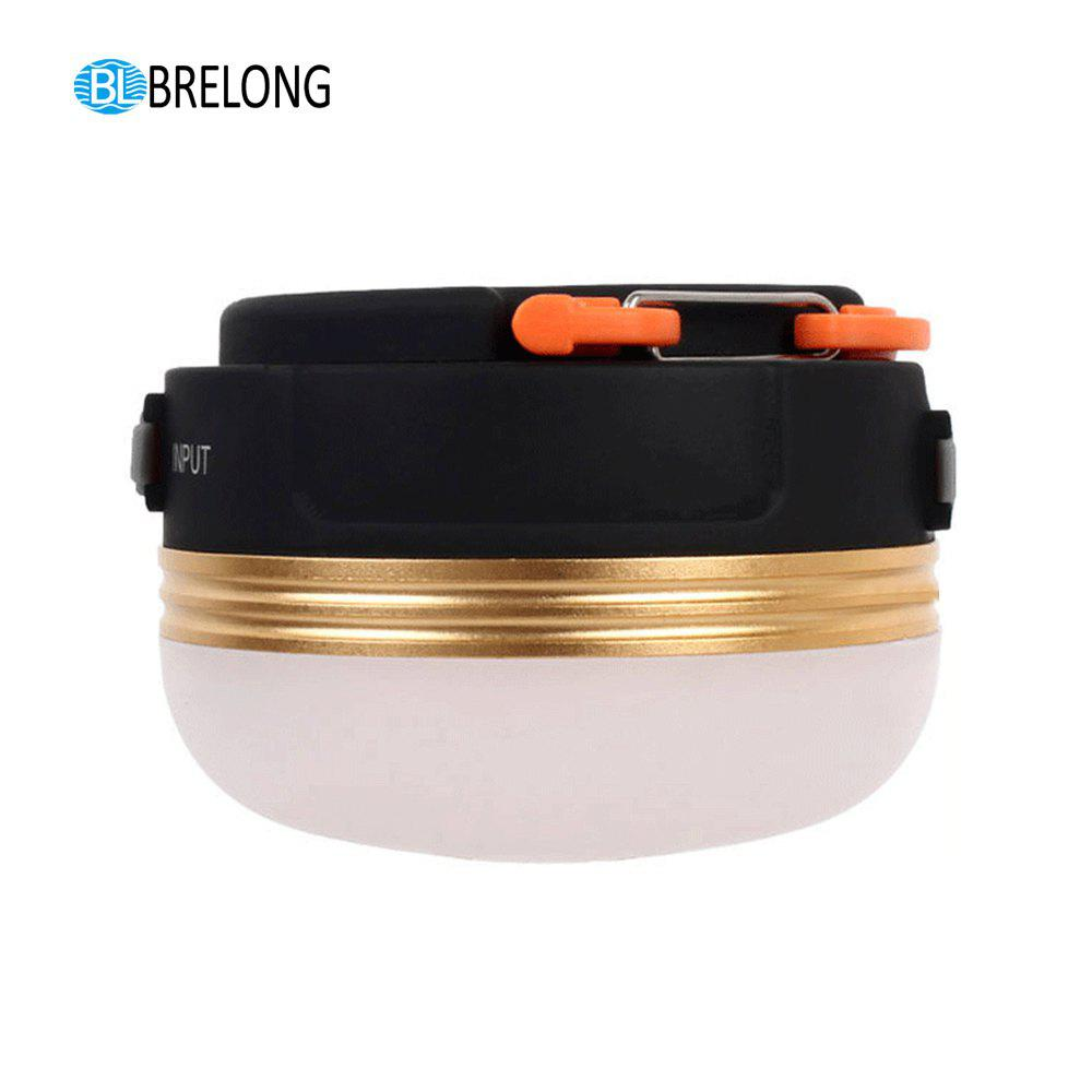 BRELONG  Camping Lights Emergency USB Charge Mobile Power - BLACK
