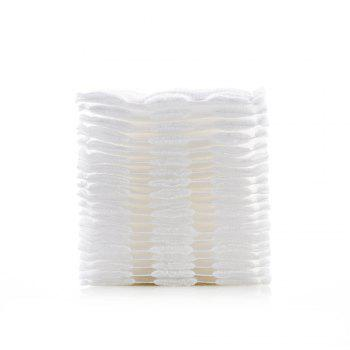 3 Layers of High Quality Cotton Pad 222PCS - WHITE