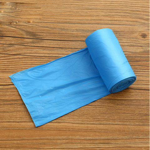 Plastic Thickened Solid Color Garbage Bag 5 Volumes - BLUE