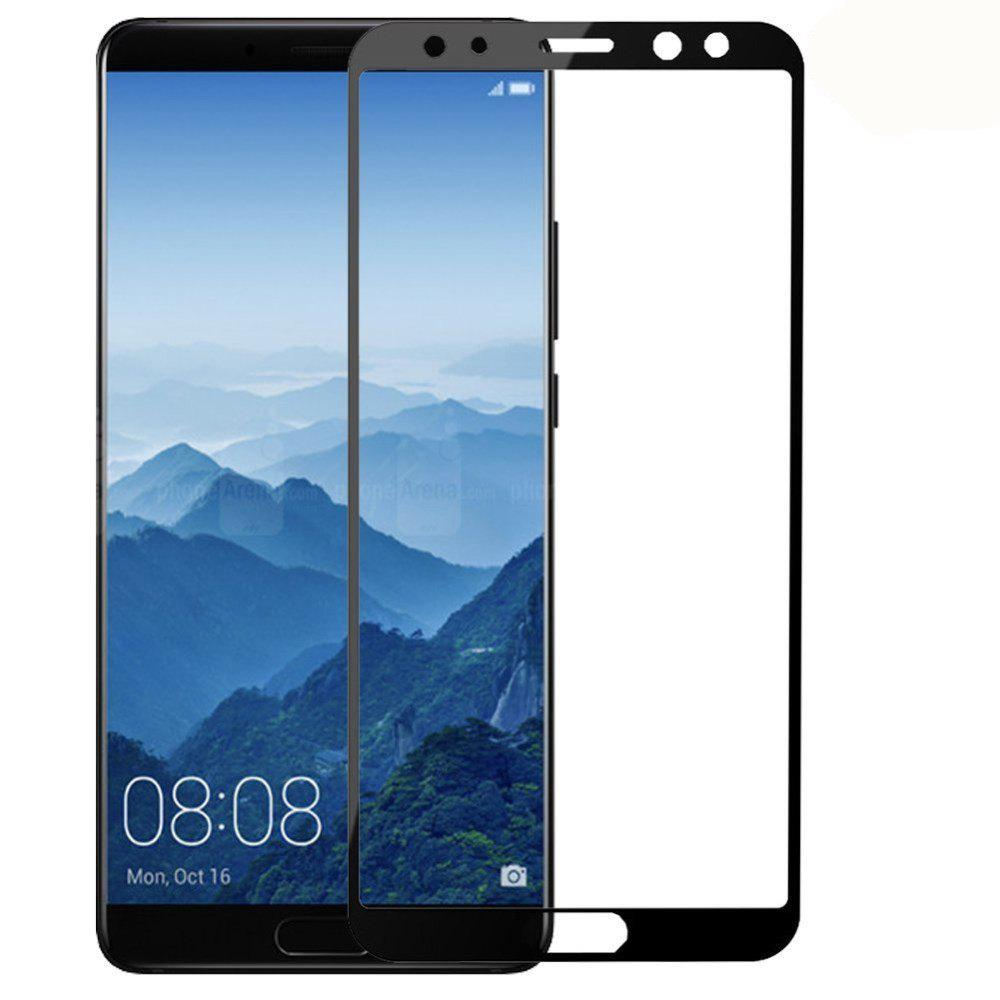 Screen Protector for Huawei Mate 10 Pro HD 3D Full Coverage High Clear Premium Tempered Glass - BLACK