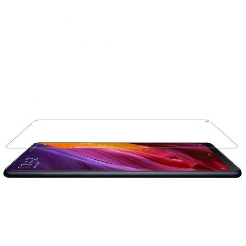 2PCS Screen Protector for Xiaomi Mi Mix2 HD Full Coverage High Clear Premium Tempered Glass - TRANSPARENT