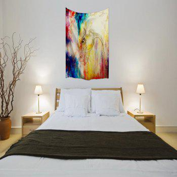 The Dragon 3D Digital Printing Home Wall Hanging Nature Art Fabric Tapestry for Bedroom Living Room Decorations - COLORMIX W153CMXL102CM