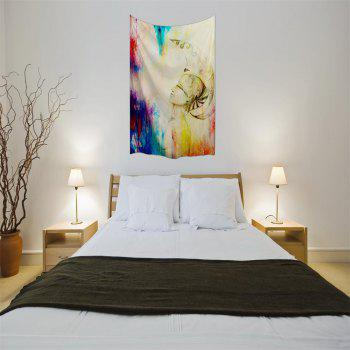 Blessing 3D Digital Printing Home Wall Hanging Nature Art Fabric Tapestry for Bedroom Living Room Decorations - COLORMIX W153CMXL102CM