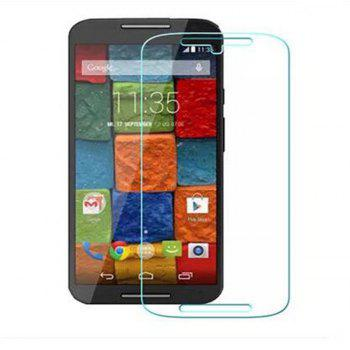 for Moto G2 Tempered Glass Screen Protector 9H Film - TRANSPARENT
