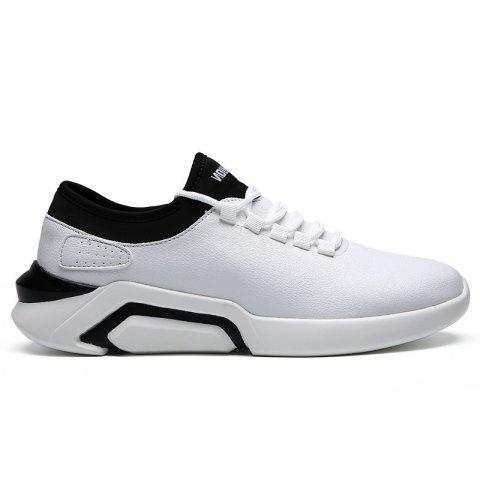 New Lightweight Spring and Autumn Casual Sports Shoes - WHITE 40