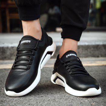 New Lightweight Spring and Autumn Casual Sports Shoes - BLACK BLACK
