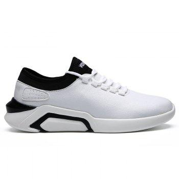 New Lightweight Spring and Autumn Casual Sports Shoes - WHITE WHITE