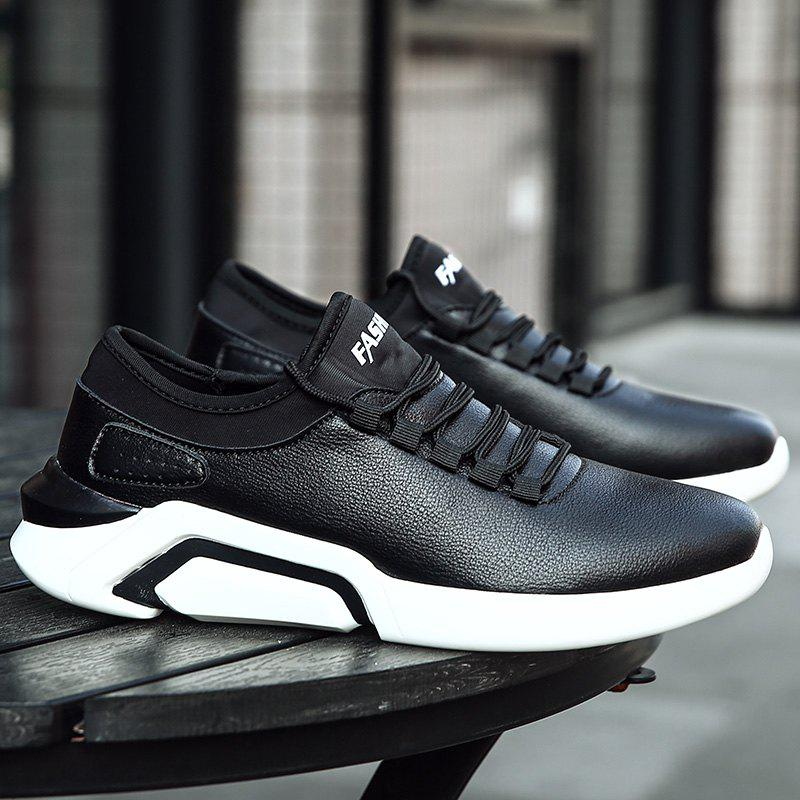 New Lightweight Spring and Autumn Casual Sports Shoes - BLACK 40