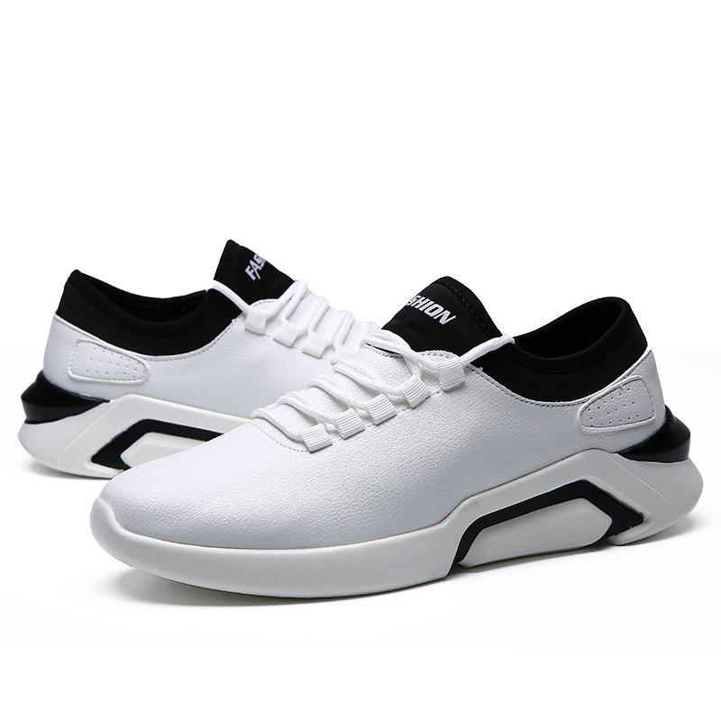 New Lightweight Spring and Autumn Casual Sports Shoes - WHITE 41