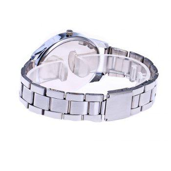 Zhou Lianfa Set Diamond Personality Sport Casual Watch - SILVER