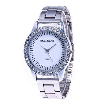 Zhou Lianfa Set Diamond Personality Sport Casual Watch - SILVER SILVER