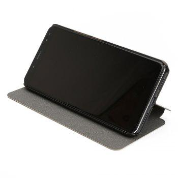 OCUBE Flip Folio Stand Up Holder PU Leather Case Cover for Ulefone Power 3 Cellphone -  BLACK