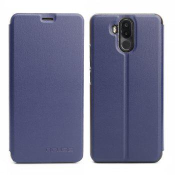 OCUBE Flip Folio Stand Up Holder PU Leather Case Cover for Ulefone Power 3 Cellphone - BLUE BLUE