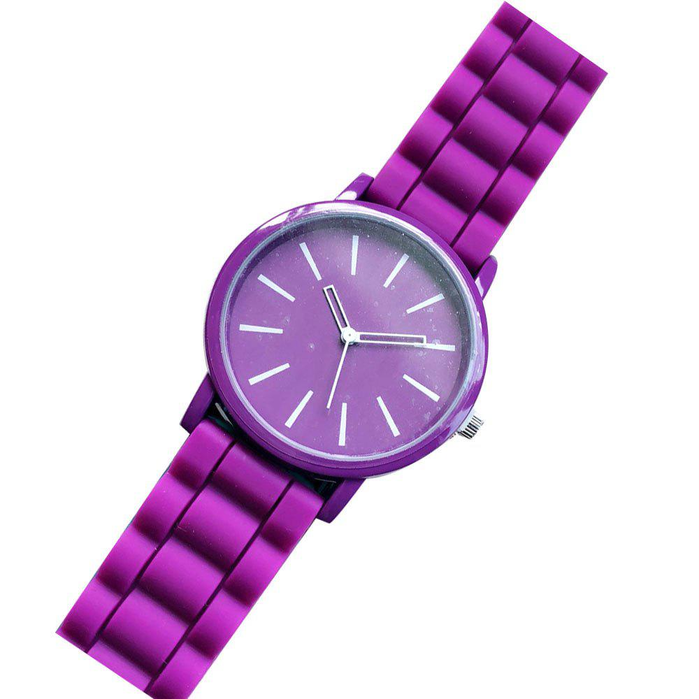 Stylish Silicone Band Women Watch - TAHITI FEMALE