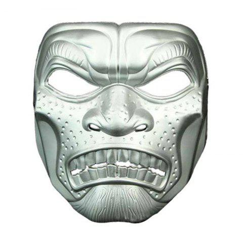 Halloween Movie Theme Horror Mask Adult Masquerade - SILVER