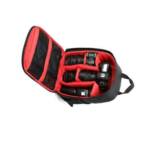 Camera Backpack Bag for DSLR Camera  Lens and Accessories - RED