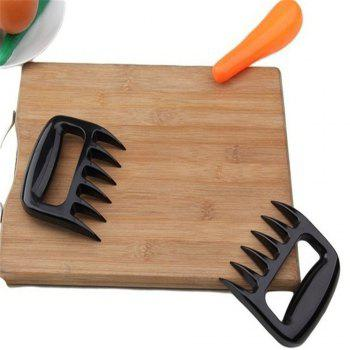 Barbecue Tools Tear Meat Paws - BLACK