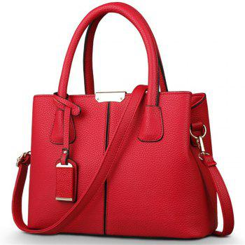 New European and American Handbags - RED RED