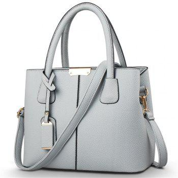 New European and American Handbags - GRAY GRAY