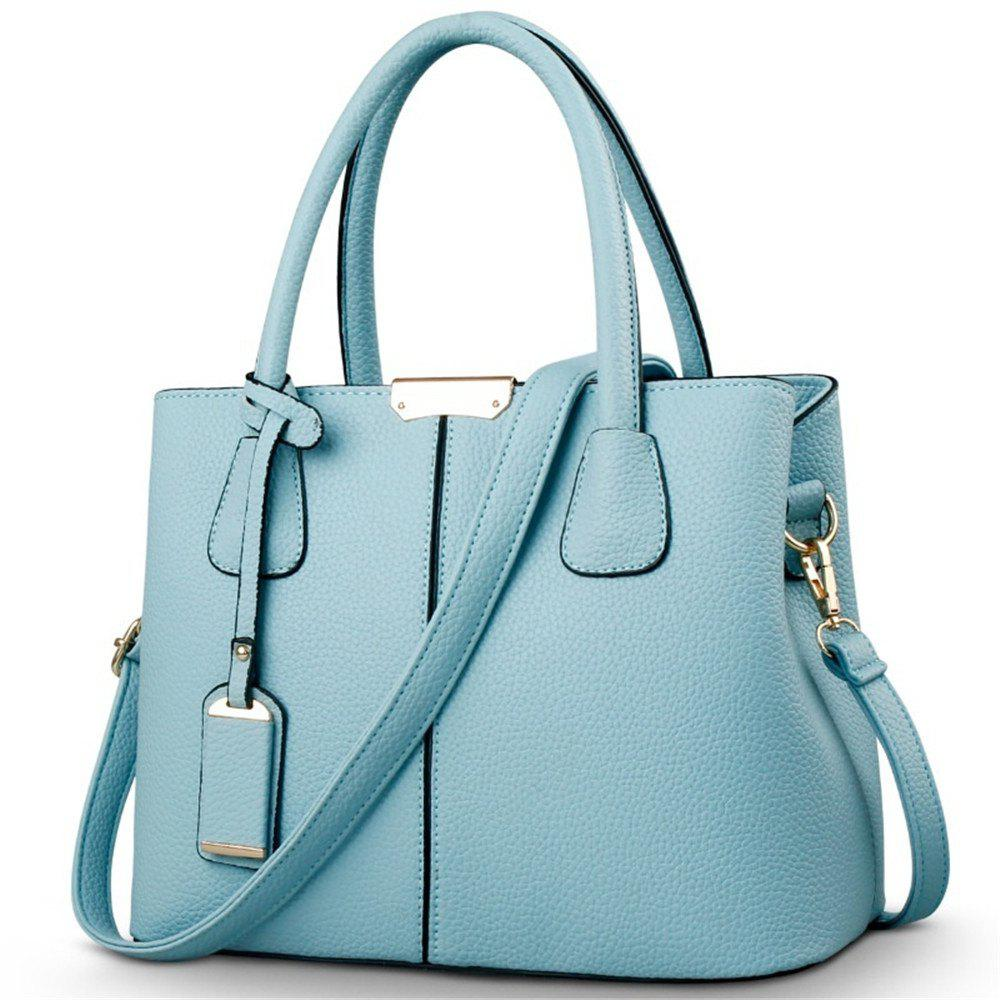 New European and American Handbags - AZURE