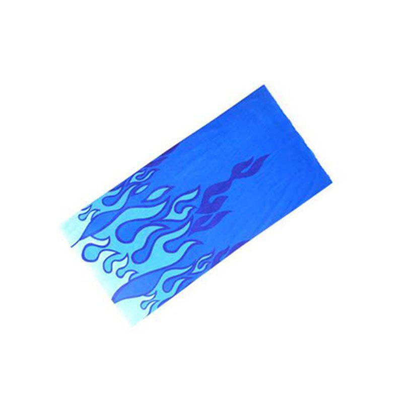 Cycling Scarf Bike Masks Men and Women Mountain Bike Changeable Bib Cycling Equipment - BLUE
