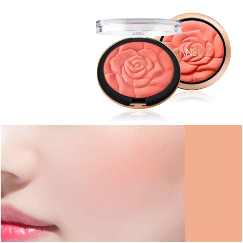 MANSLY Rose Silky Blusher Brighten Skin -