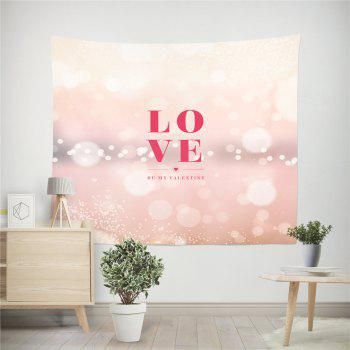 Hand-Made Hd Digital Printing Wall Decoration Tapestry Valentine'S Day Decoration - PAPAYA 150X100CM