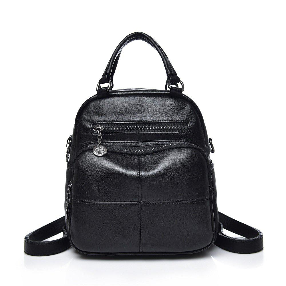 Dual Backpack Multi-functional Backpack - BLACK
