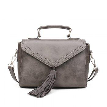 Fashion Lady's High Grade Single Shoulder Hand Held Backpack - GRAY GRAY