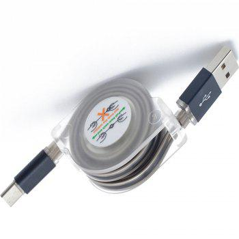 Type - C Fashion Cool Light Cable - BLACK