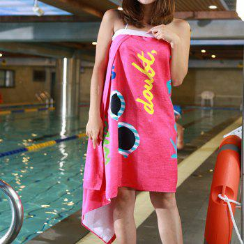 Lovely Soft Cotton Beach Towel - PINK
