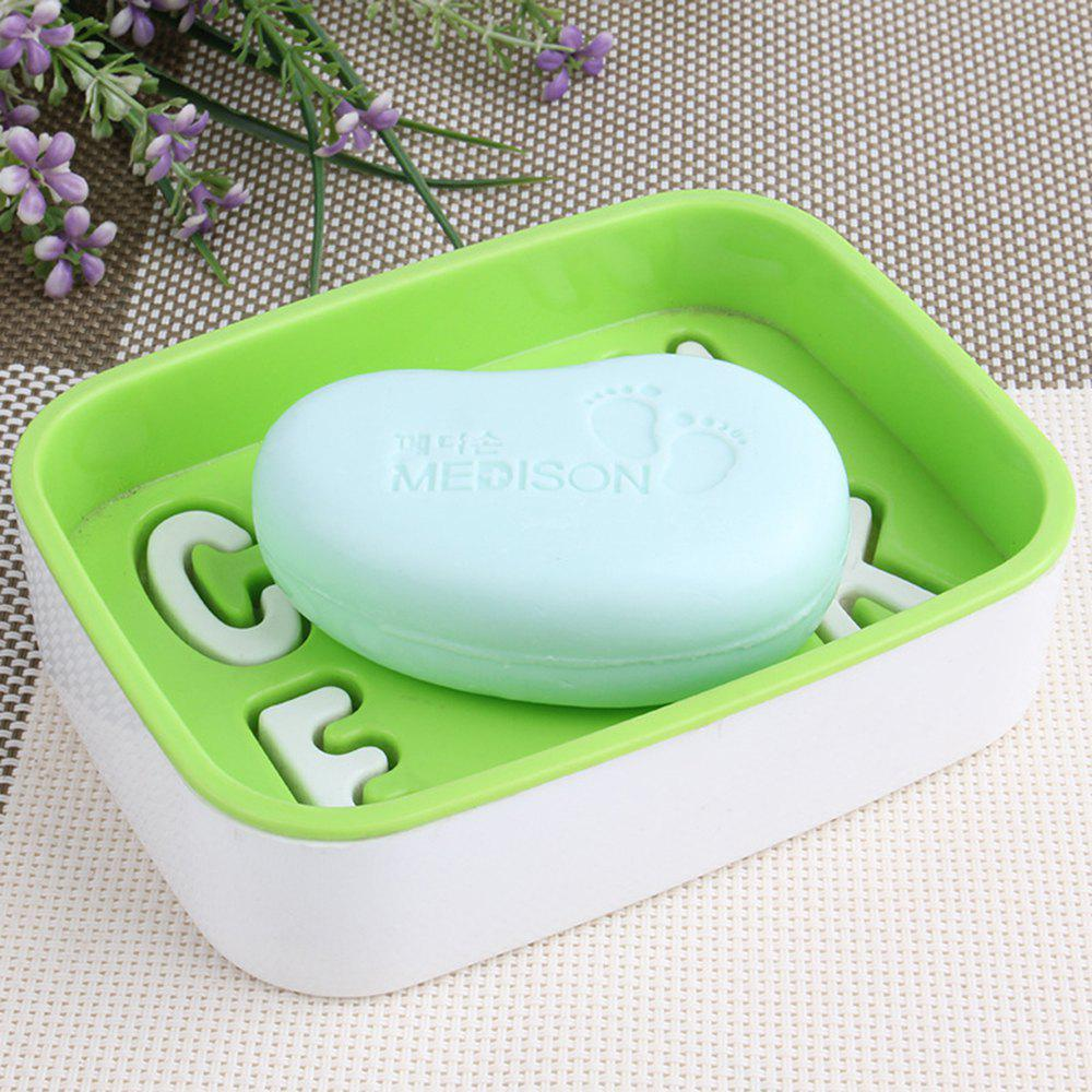 2 Pcs Bath Washing Feet Soap Foot Care Dispense to Remove Antiseptic Psoriasis and Deodorize - LIGHT GREEN