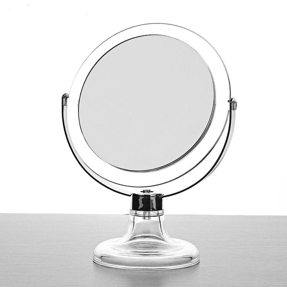 360 Degrees Revolving Mirror - CLEAR WHITE 1PC
