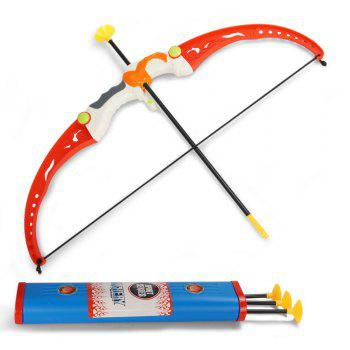 Parent-child Shooting Sport Simulation Indoor Outdoor Toy Set - RED RED