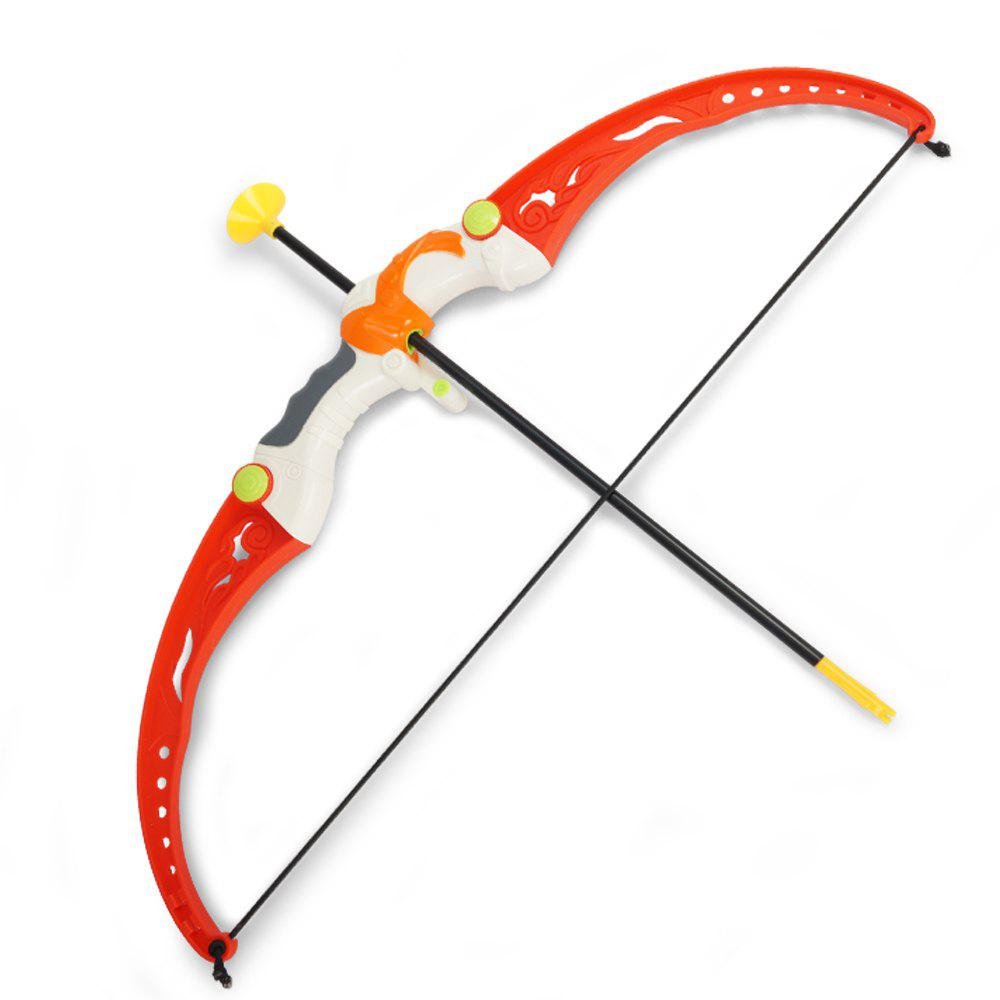 Parent-child Shooting Sport Simulation Indoor Outdoor Toy Set - RED