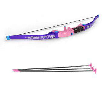 Bow  Arrow Children outdoor activity suction cup direct shooting toy suit - REGALIA REGALIA