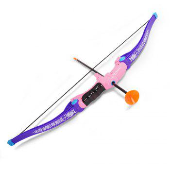 Bow  Arrow Children outdoor activity suction cup direct shooting toy suit - REGALIA