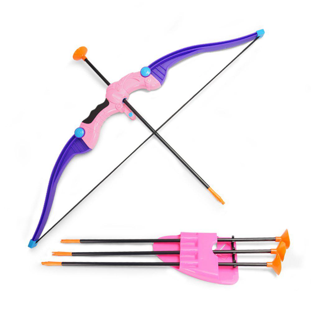 Bow  Arrow Children outdoor activity suction cup direct shooting toy suit - DAHLIA