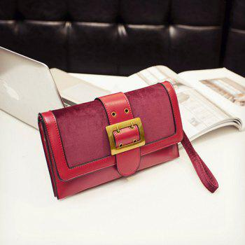 Personality Fashion Temperament Hand Bag -  WINE RED