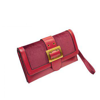 Personality Fashion Temperament Hand Bag - WINE RED WINE RED