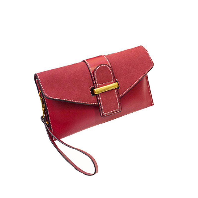 Women's Single Shoulder Bag for Casual Wear - WINE RED
