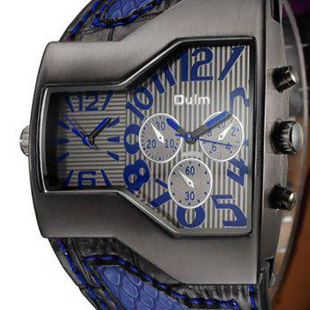 Personality Two Time Zone Tide Watch - BLUE
