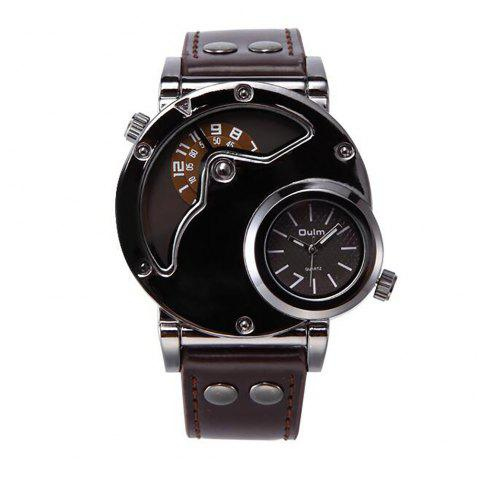 Personality Sports Watch with Fashion and Fashion - BROWN