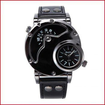 Personality Sports Watch with Fashion and Fashion - BLACK BLACK