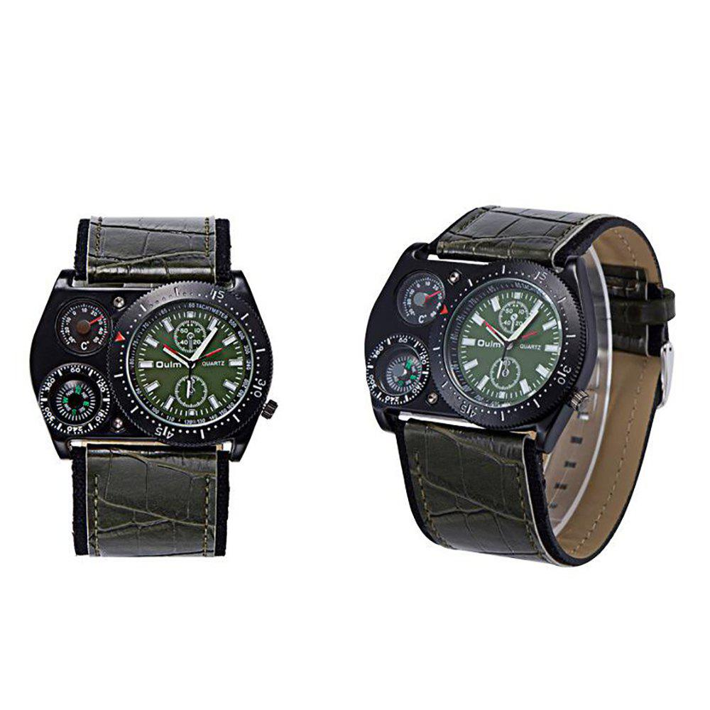 Men'S Outdoor Sports Quartz Watch - GREEN