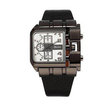 Men's Watch for Foreign Trade and Leisure Single Core - WHITE WHITE