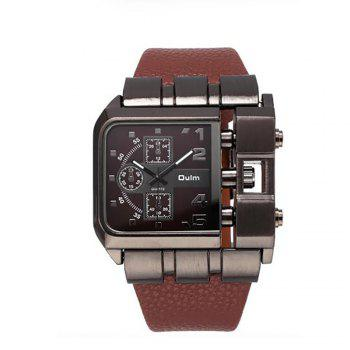 Men's Watch for Foreign Trade and Leisure Single Core - BROWN BROWN