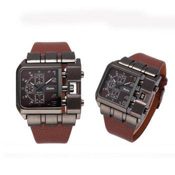Men's Watch for Foreign Trade and Leisure Single Core -  BROWN