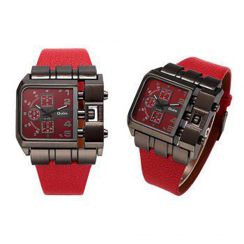 Men's Watch for Foreign Trade and Leisure Single Core -  RED