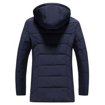 2018 Men's Fashion Trends Warm Coat - DEEP BLUE XL